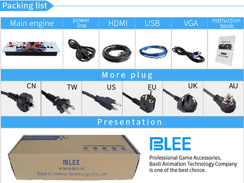 4s newest BLEE pandora box 4s