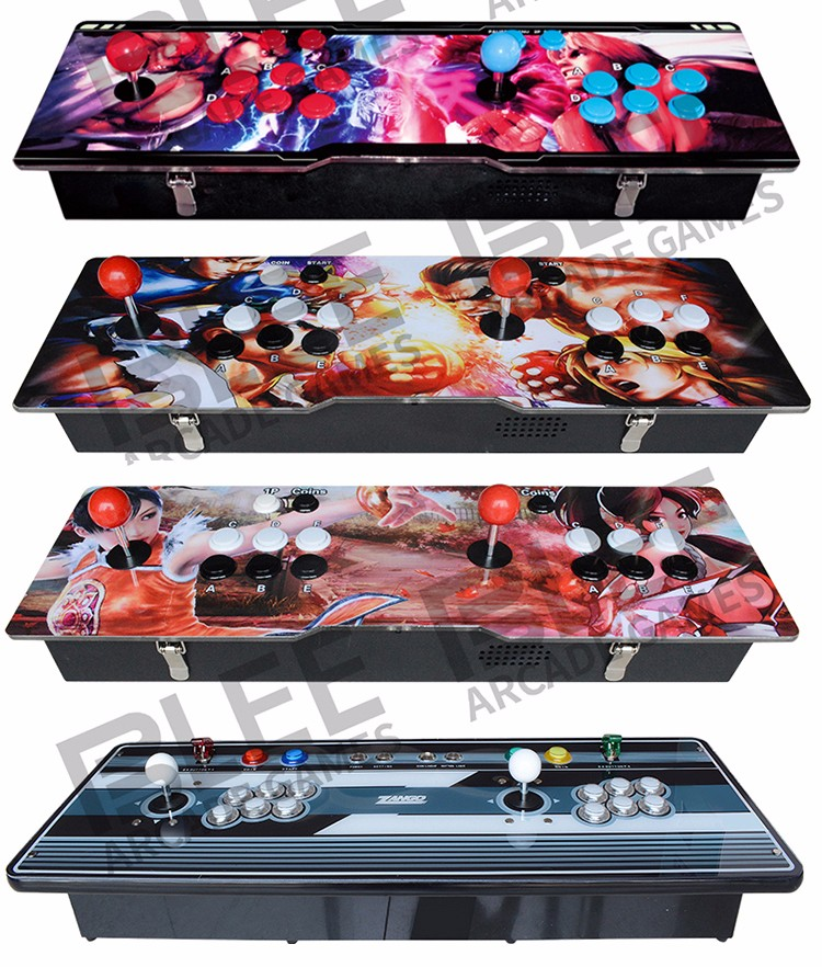 BLEE-2018 Newest Different Artwork Design Pandora Box Arcade Console 645 680-2