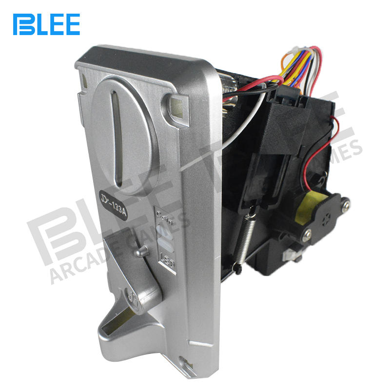 Qualified Electronic Coin Acceptor Selector