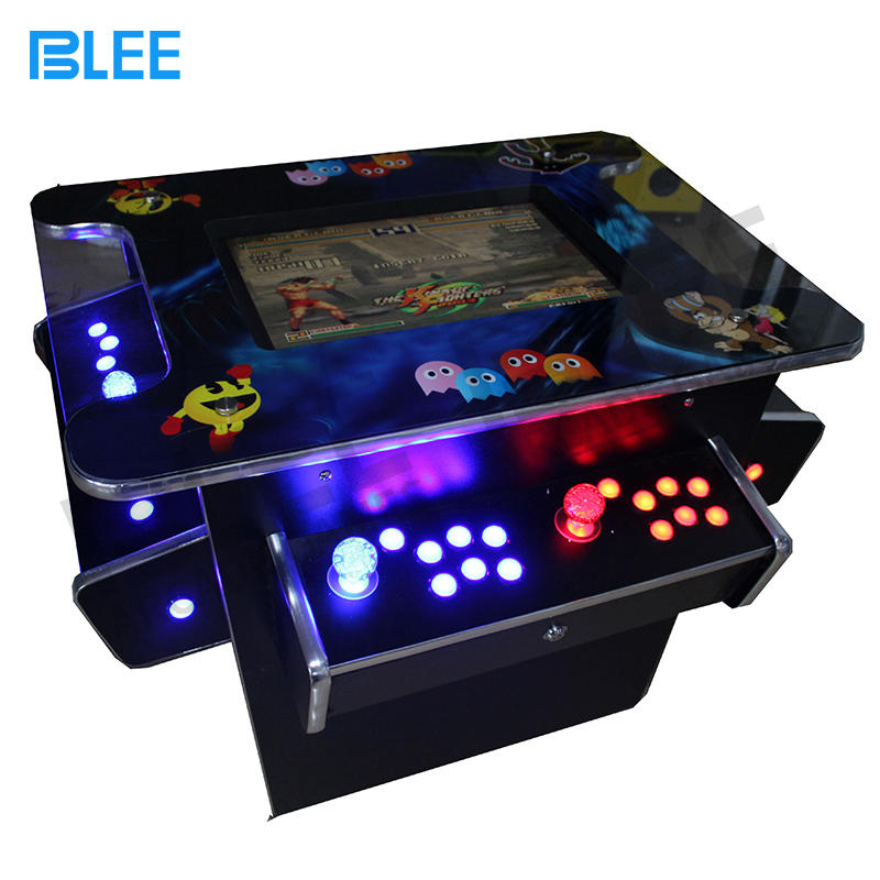 Affordable 3 sides 4 players arcade cocktail