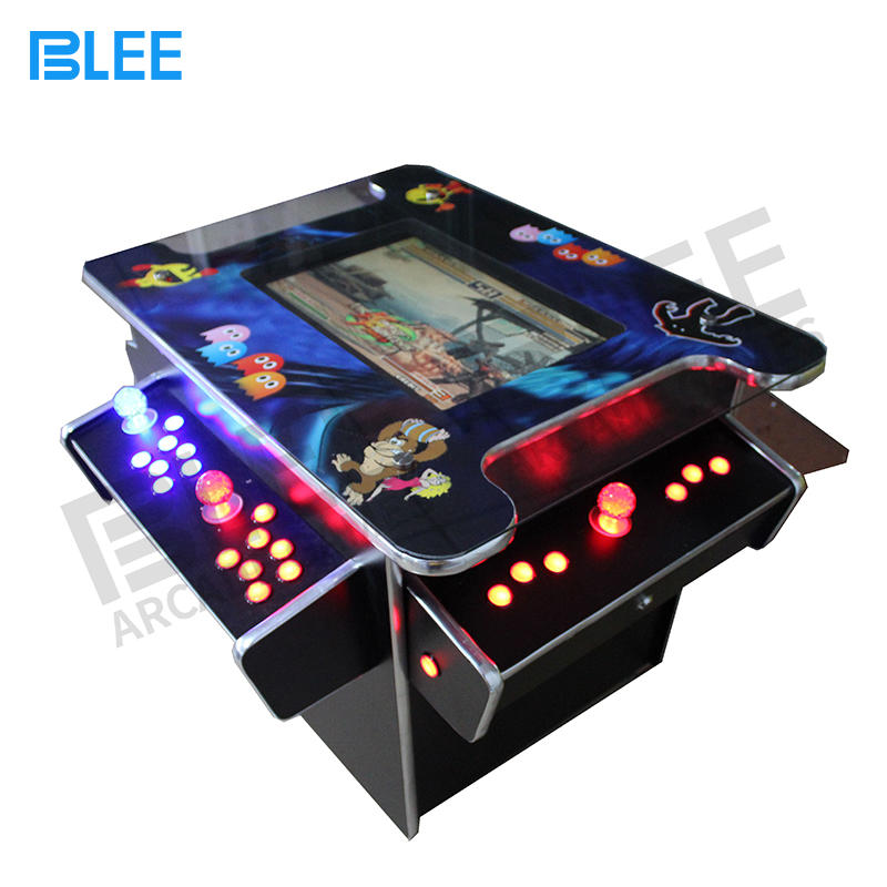 Affordable 4 player cocktail arcade game machine