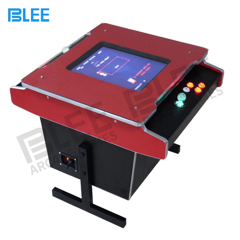 Affordable cocktail table arcade game