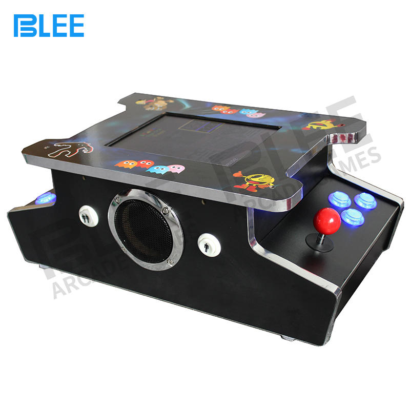 Affordable cocktail arcade game machine