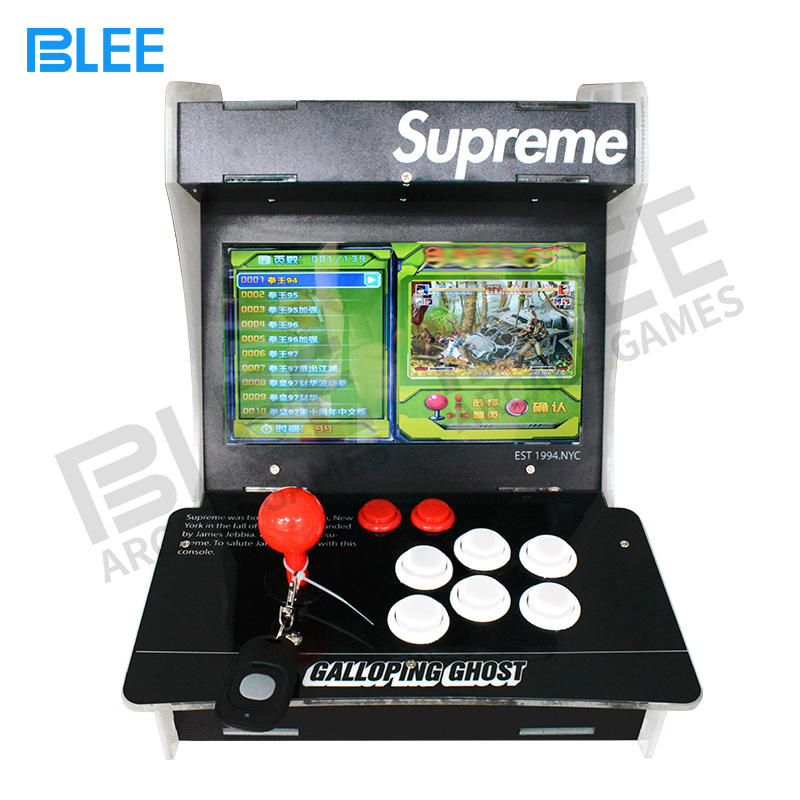1388 games 2 players bartop mini arcade game machine
