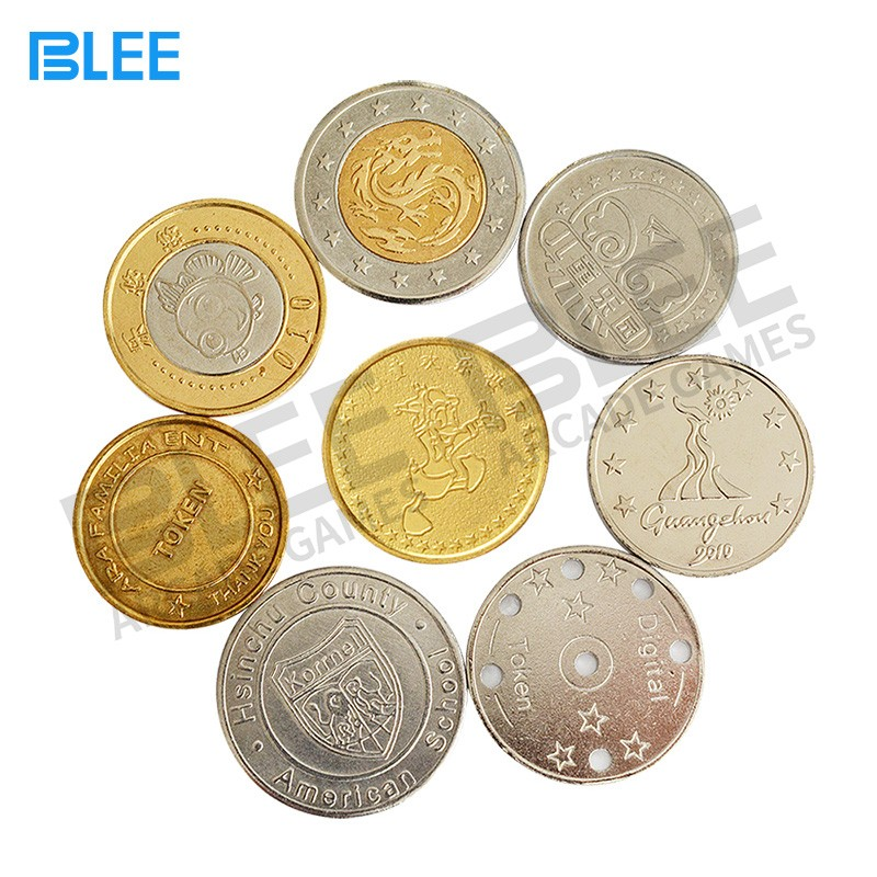 BLEE-Oem Odm Brass Tokens Coins Price List | Blee Arcade Parts