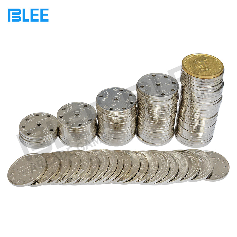 BLEE-Oem Odm Brass Tokens Coins Price List | Blee Arcade Parts-1