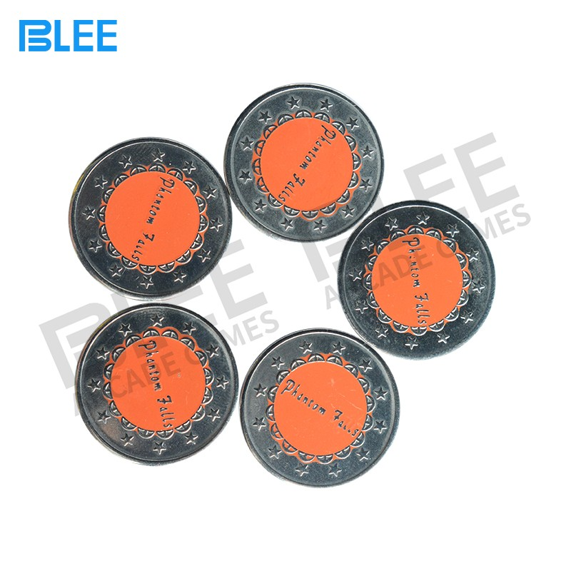 BLEE-Oem Odm Brass Tokens Coins Price List | Blee Arcade Parts-5