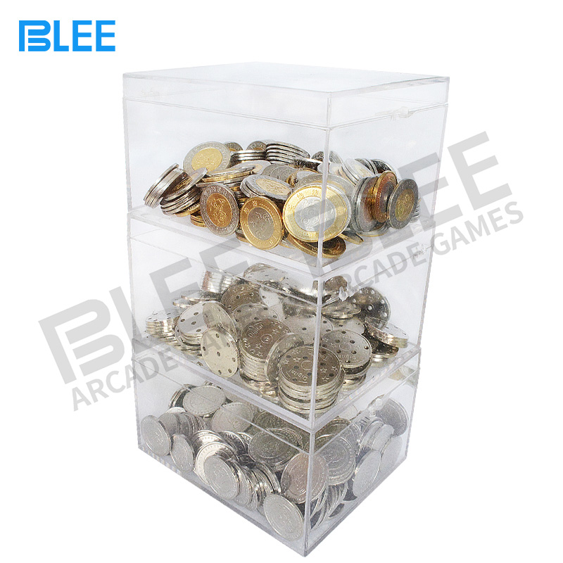 BLEE-Oem Odm Brass Tokens Coins Price List | Blee Arcade Parts-4