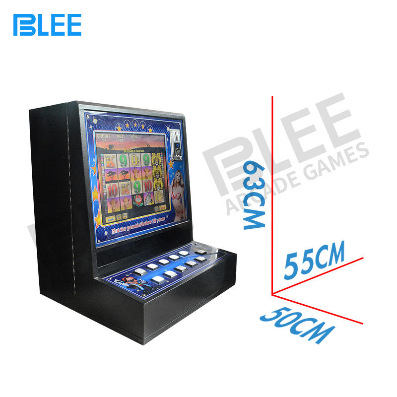 Factory price coin pusher slot casino game machine