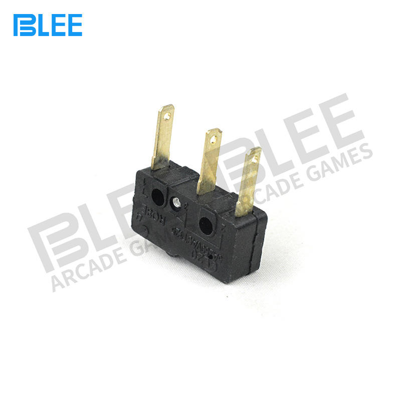 High Quality Triangle Black Subminiature Precision Approved Microswitch