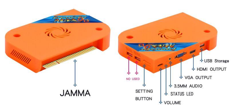BLEE-60 In One Jamma Board Manufacturer, Arcade System Board   Blee-5