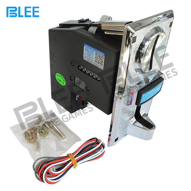 Hot-selling 6 different values programmable CPU multi coin acceptor