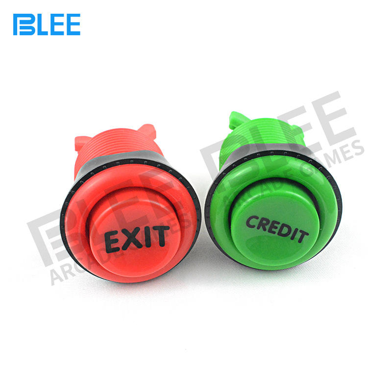 High Quality Custom Logo Round Push Button Switch for Arcade Game Machine