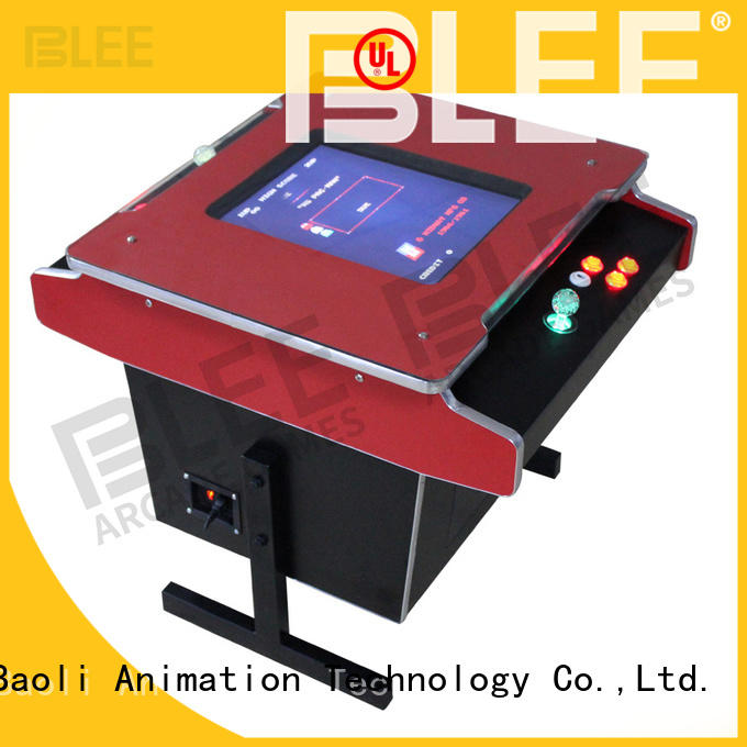 fine-quality classic arcade game machines cabinet with certification for entertainment