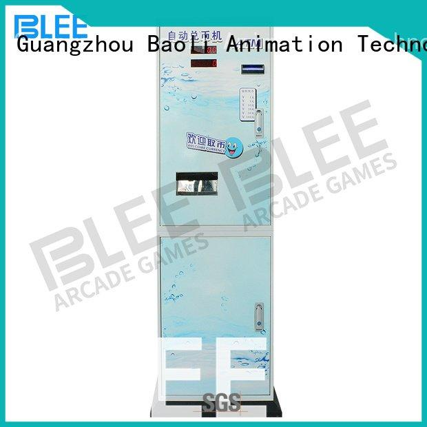 coin changer machine bill automatic coin change machine BLEE Brand