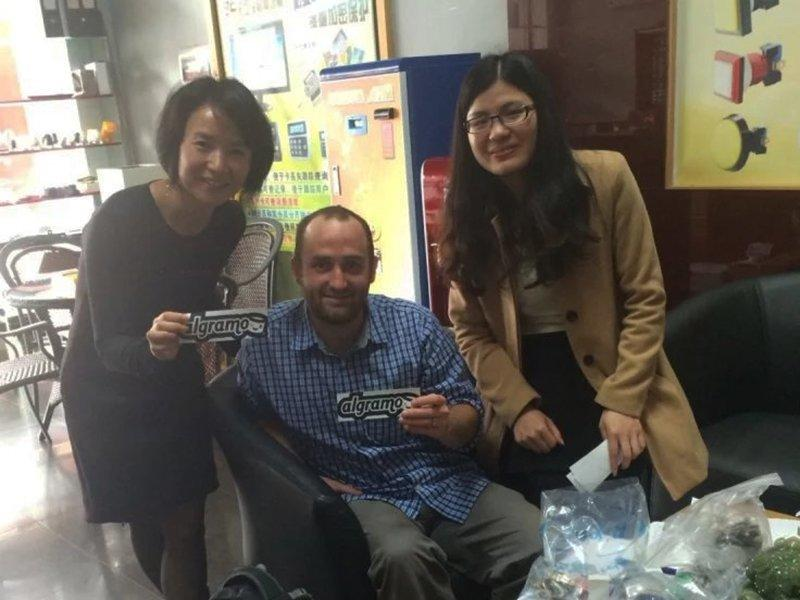 Foreign Customer Visits BLEE and Experience the Products of Coin Acceptors