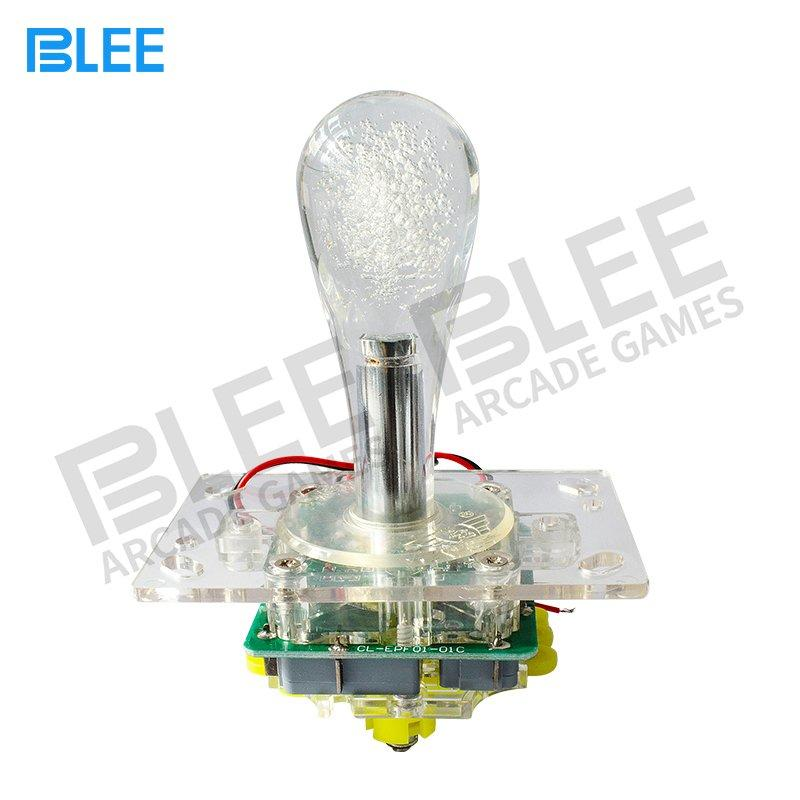 Zero delay LED light arcade joystick