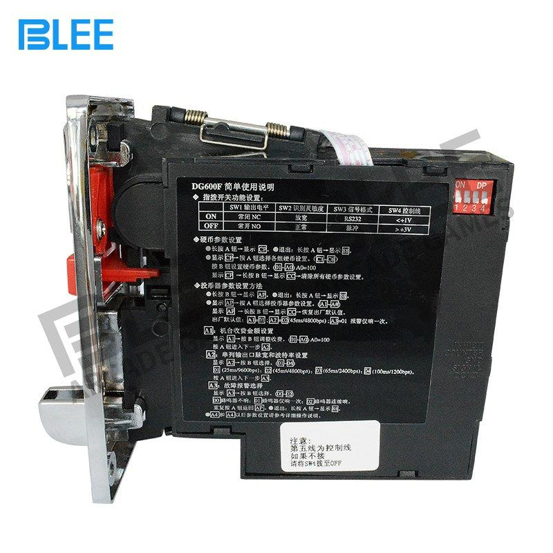 Electronic multi coin acceptor-DG600F