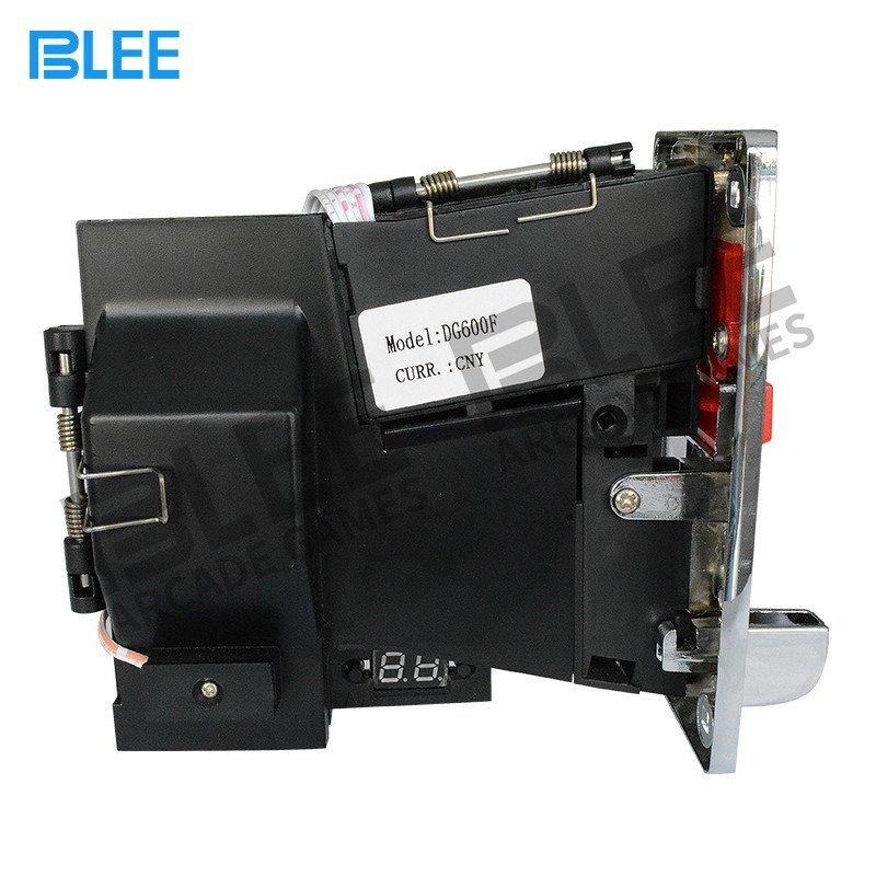 Custom multi coin acceptor multi electronic acceptor BLEE