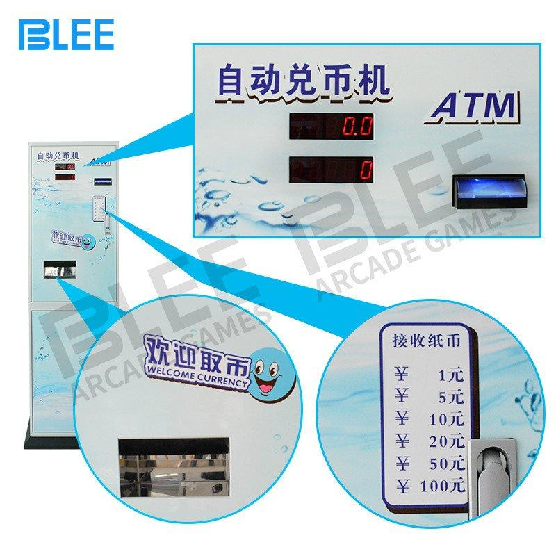 Hot coin changer machine automatic bill exchange BLEE Brand