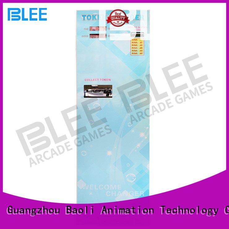 BLEE Brand bill exchange coin change machine changer token