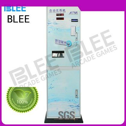 exchange automatic changer BLEE coin change machine