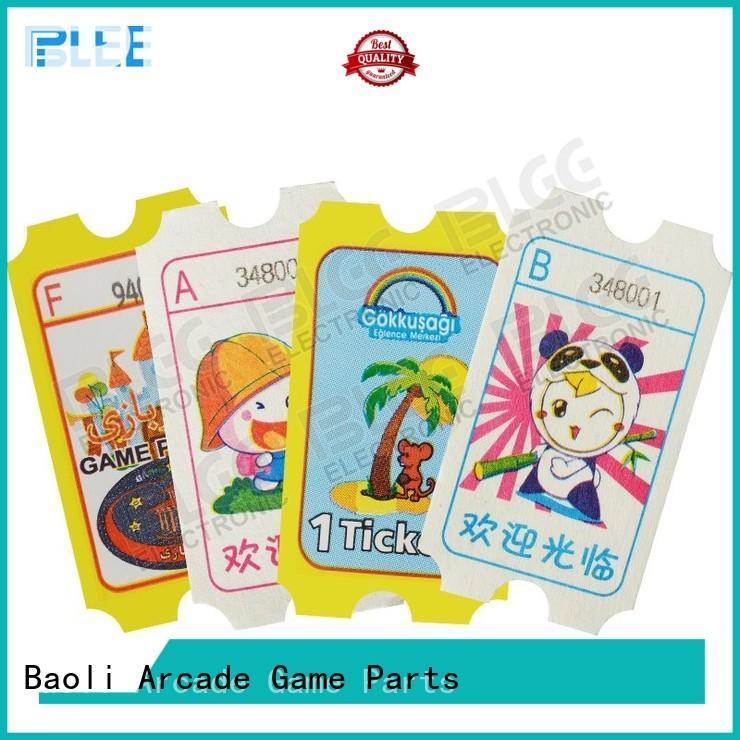 BLEE Brand tickets games redemption tickets manufacture