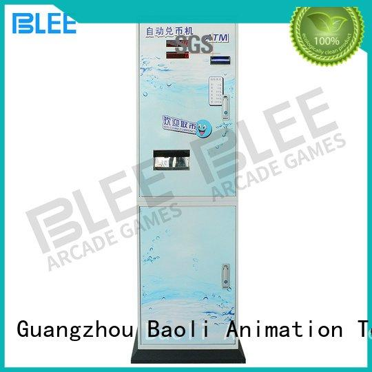 automatic coin change machine exchange BLEE