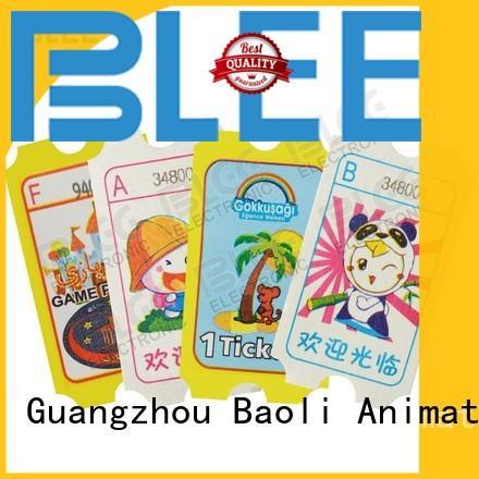 BLEE games arcade ticket suppliers for aldult