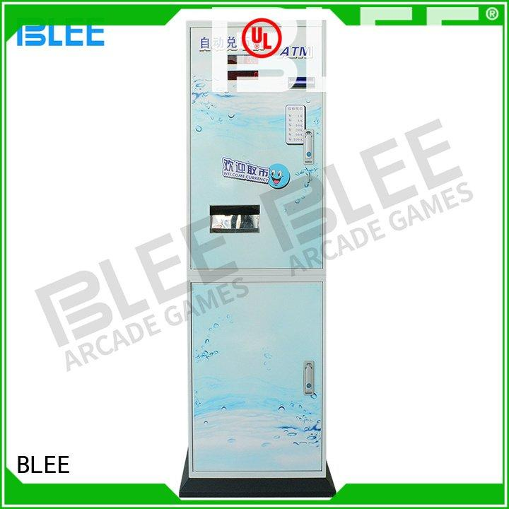 Hot coin changer machine automatic bill exchange BLEE Brand
