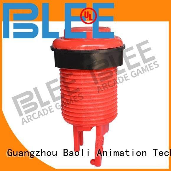 long square small led Baoli arcade buttons kit