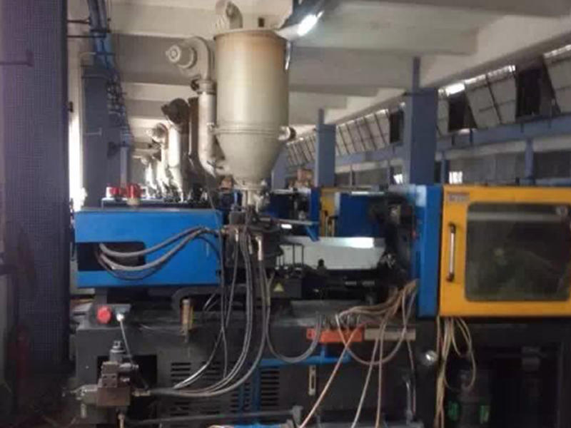 Injection Molding Machine in Workshop