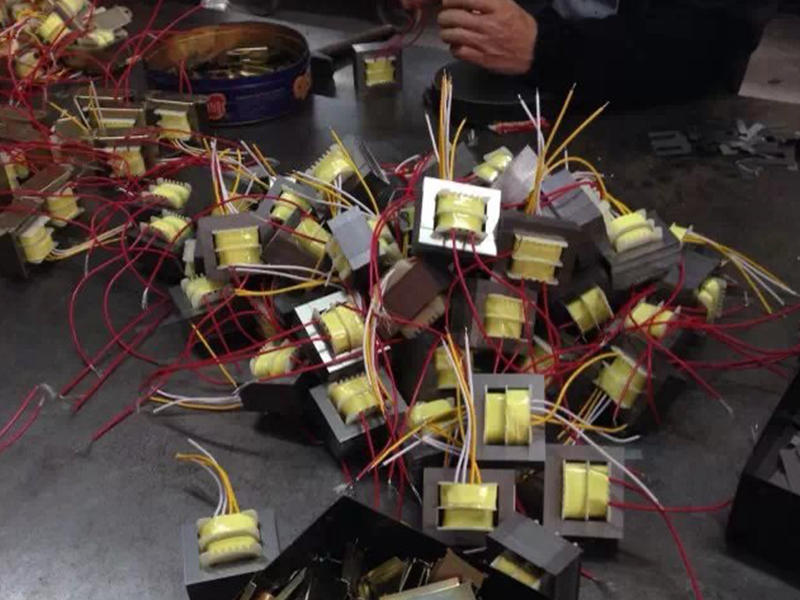 Pandora Arcade Box Power Transformer Production and Test