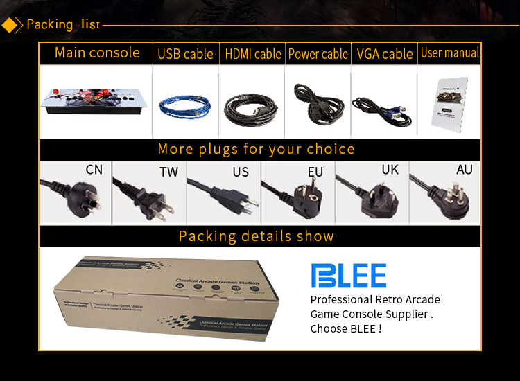 BLEE-Pandoras Box 4 Arcade Manufacture | Manufacturer Direct Price-7