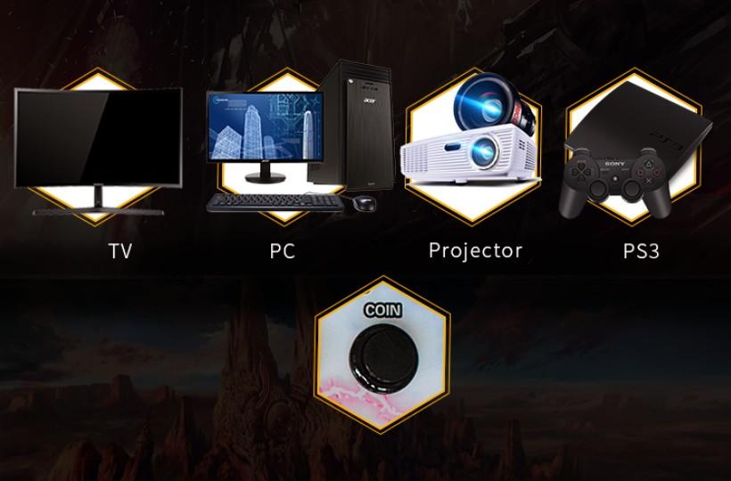 BLEE-Best Pandora Box Arcade Plug And Play Pandora Retro Box 4S-2