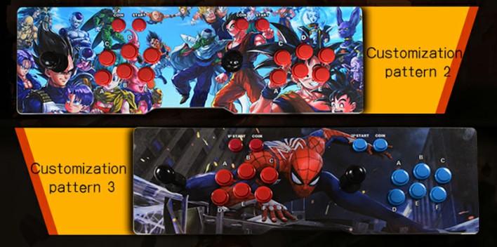 BLEE-Pandora 4 Arcade, Plug And Play 1388 In 1 Pandora Retro Box-6