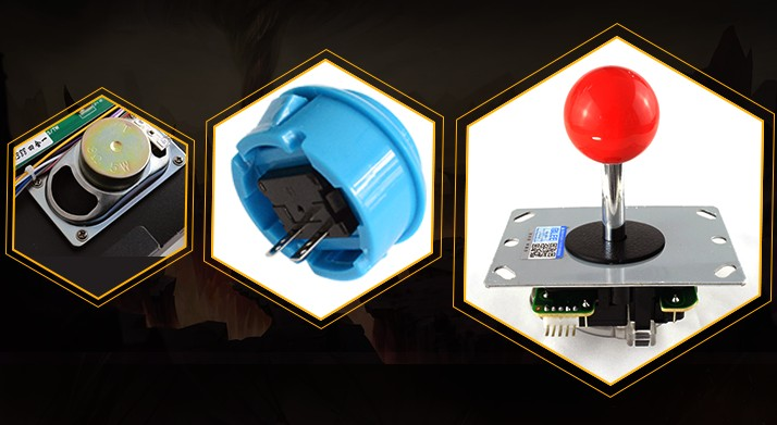 BLEE-Best Pandoras Box Arcade 4 2 Players Pandora Retro Box 4-6