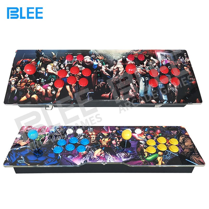 BLEE-2018 newest different artwork design pandora box arcade console 645 680 815 or more games in -12