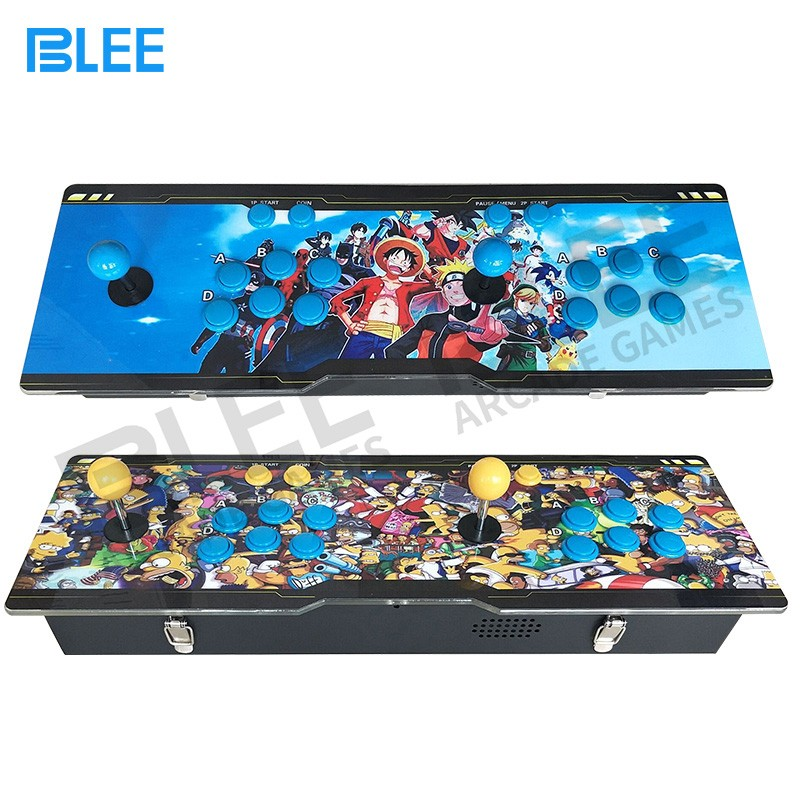 BLEE-2018 newest different artwork design pandora box arcade console 645 680 815 or more games in -13