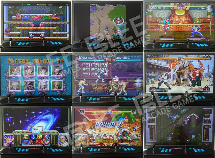 BLEE inch pandora box 5 arcade with certification for convenience store-11
