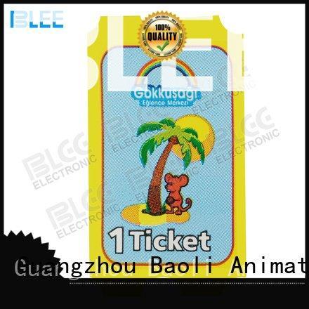 BLEE Brand arcade tickets tickets arcade tickets