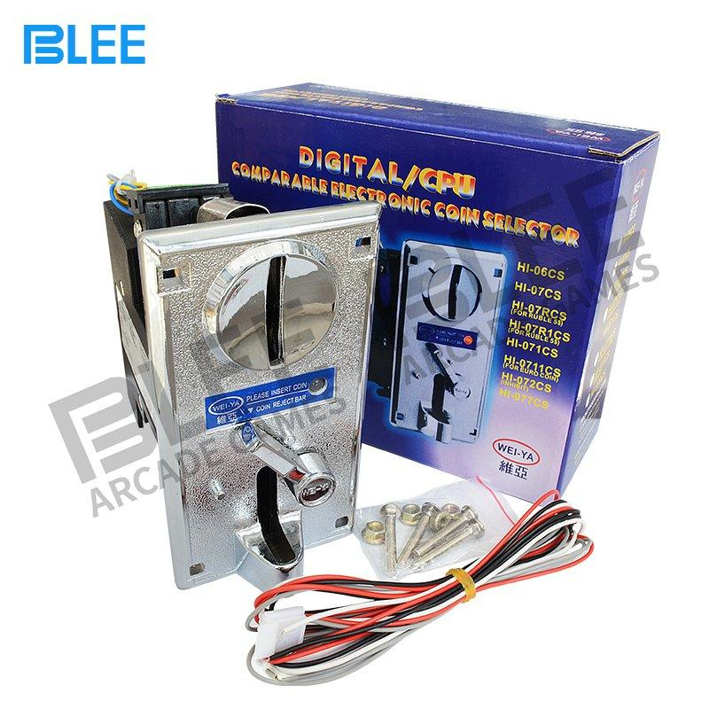 Electronic coin acceptor with indicator light-Wei Ya Style