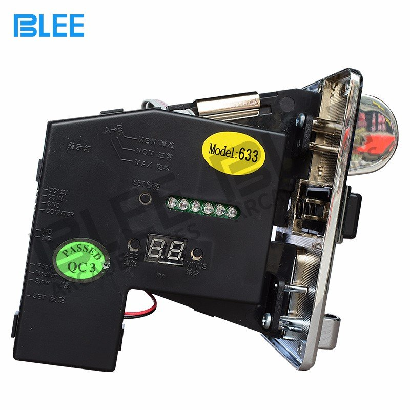 BLEE-Electronic multi coin acceptor-633
