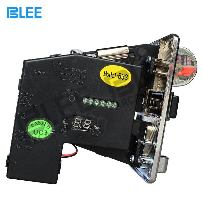 Electronic multi coin acceptor-633