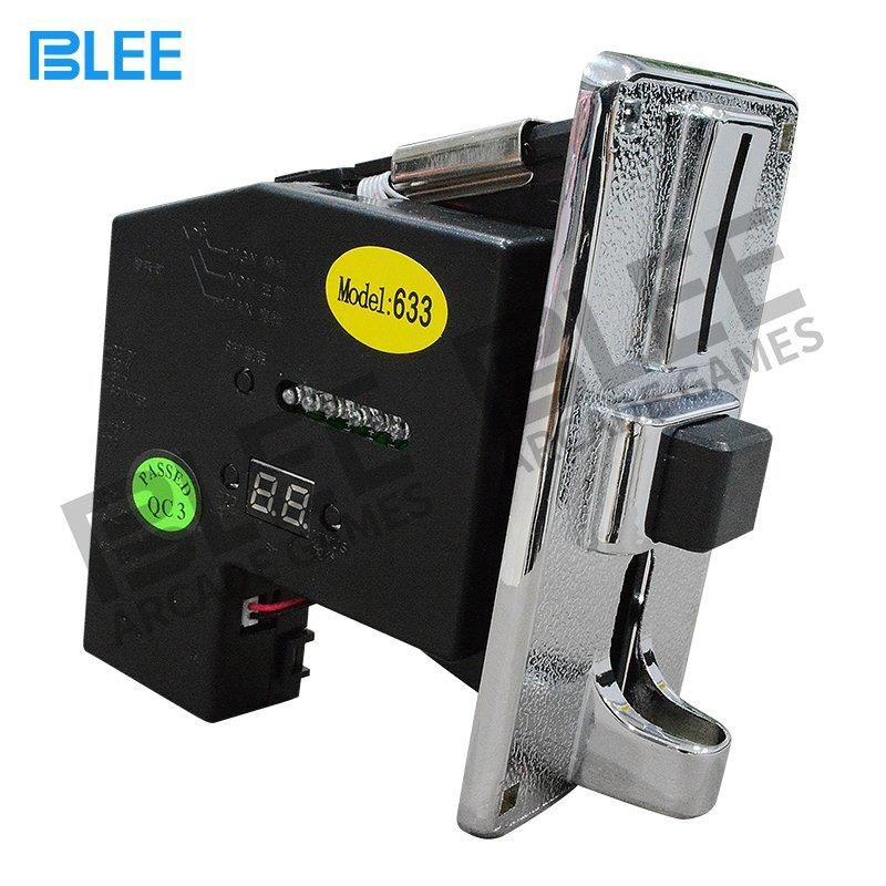 Electronic vending machine multi coin acceptor-633