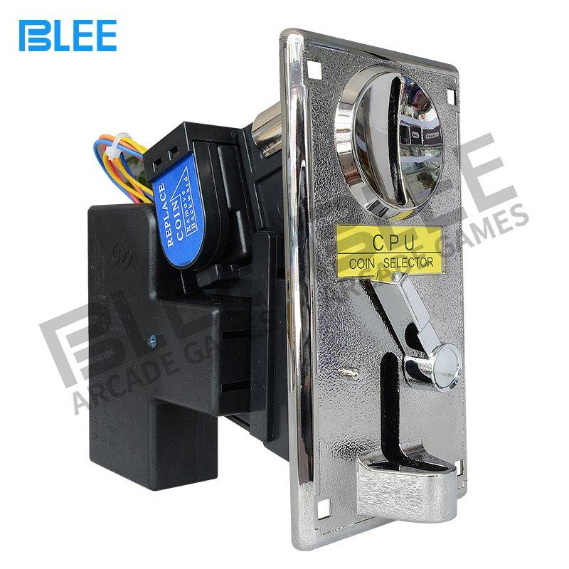 BLEE Arcade Parts Claw crane machine electronic multi coin acceptor -JY info