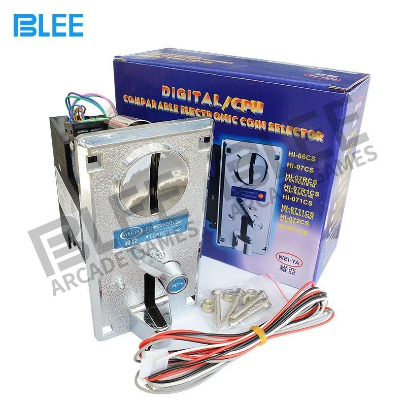 Electronic coin acceptor-Wei Ya Style
