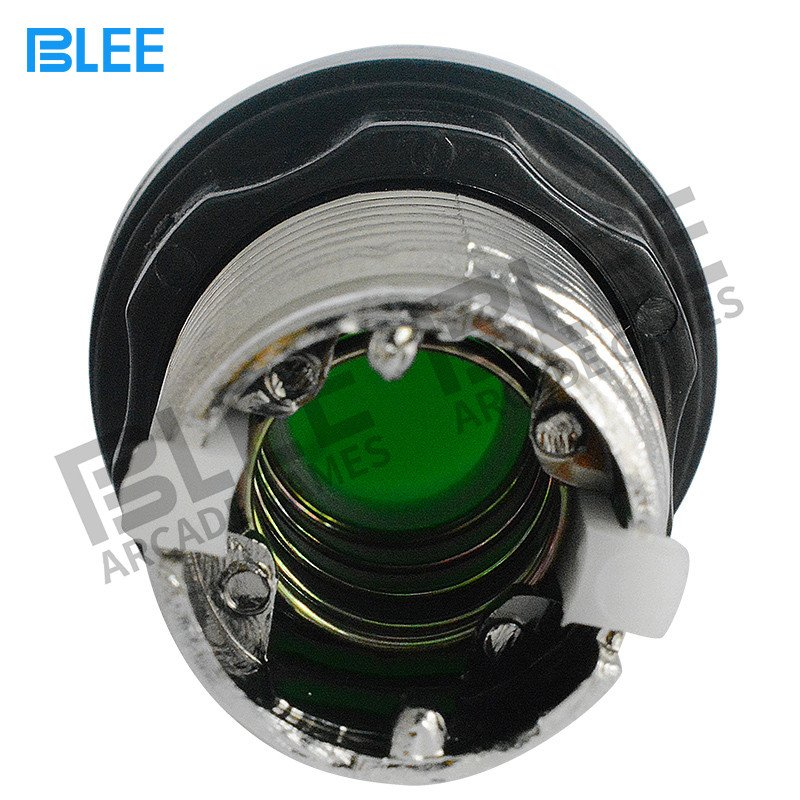 BLEE-Electroplated arcade push button with led-3