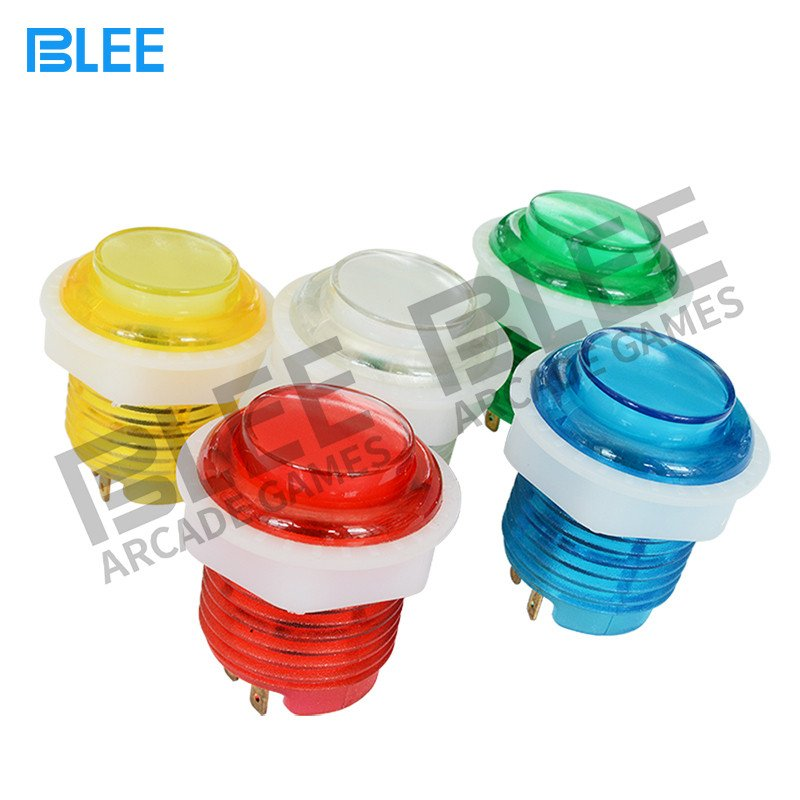 BLEE-24 mm LED arcade push button-4