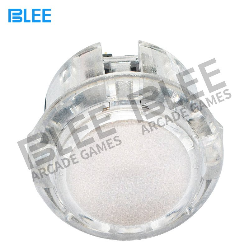 BLEE-White arcade push button with microswitch